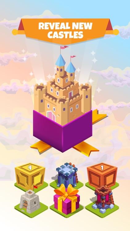 Clash of Castles - Idle Merger screenshot-4