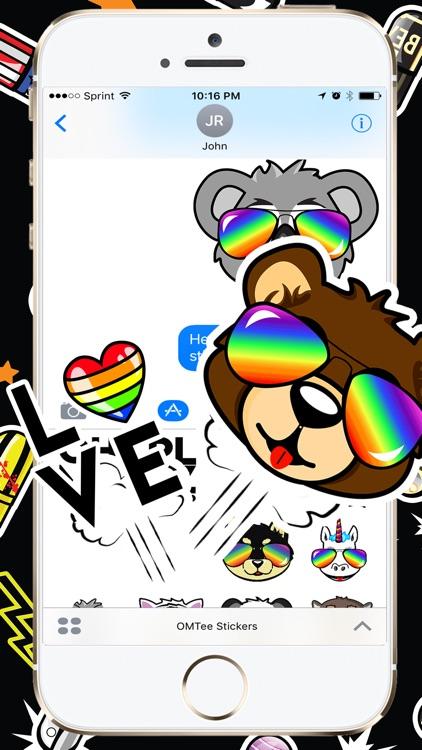 OMTee Stickers screenshot-4
