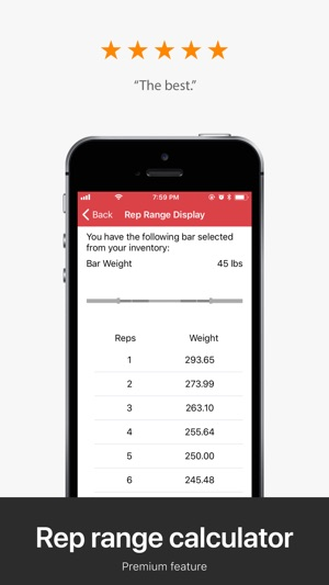 RackMath Barbell Calculator on the App Store