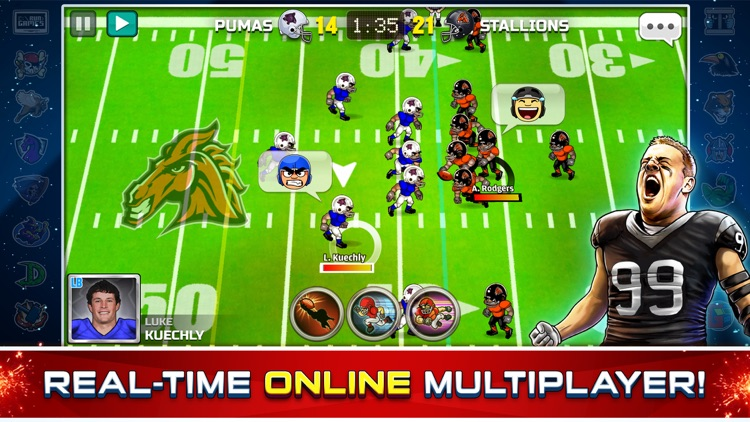 Football Heroes Pro Online - NFL Players Unleashed screenshot-0