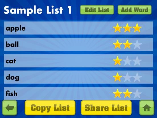 Spelling Star Screenshots