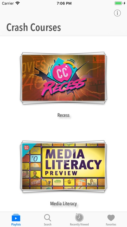 CrashCourse Video Series