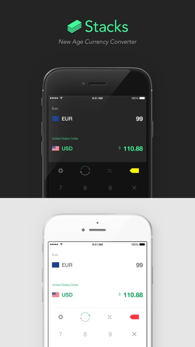 Stacks 2 - New Age Currency Converter Screenshots