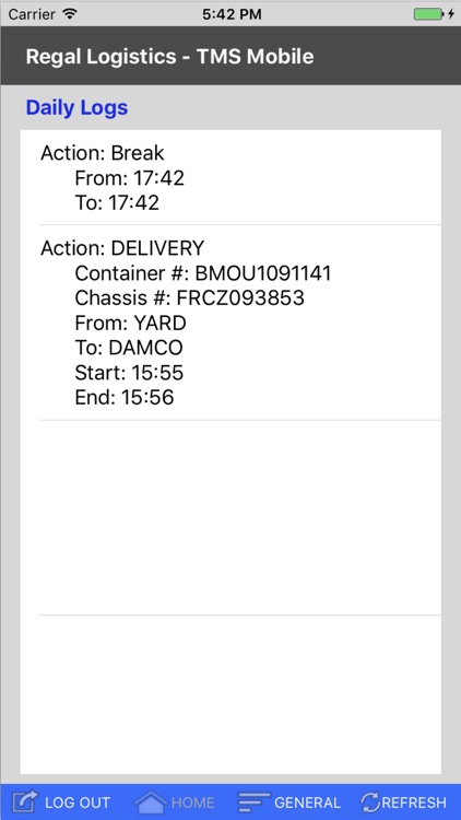 Regal Logistics - TMS Mobile screenshot-3