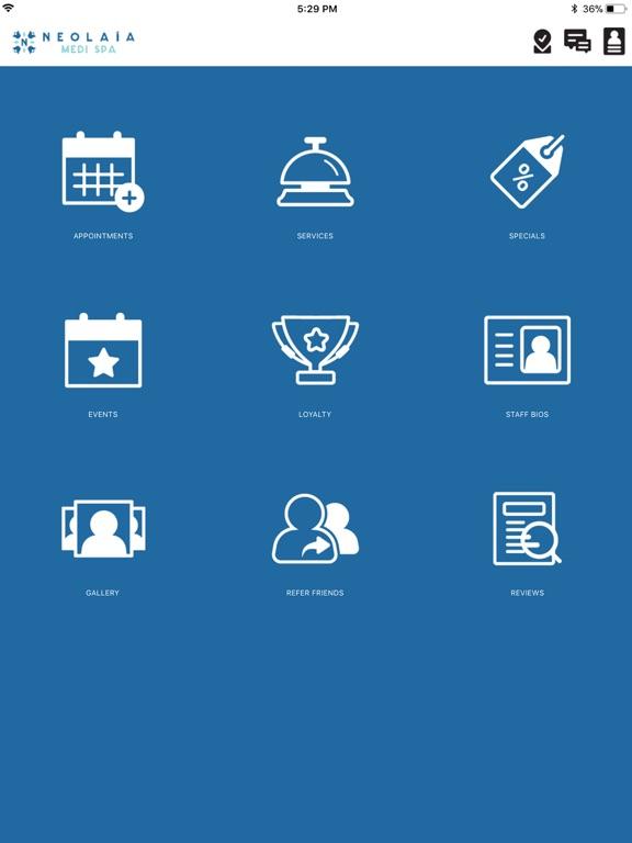 iPad Image of Neolaia Medi Spa