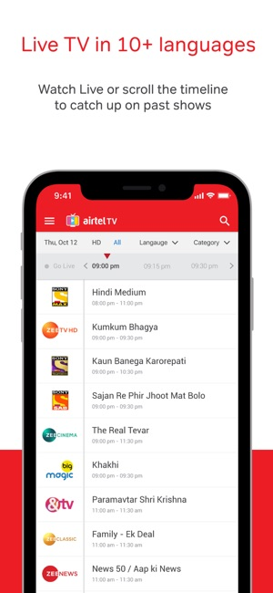 Airtel tv apk | Airtel TV: Movies, TV series, Live TV Apps Download