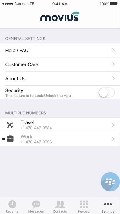 Movius for BlackBerry screenshot-4