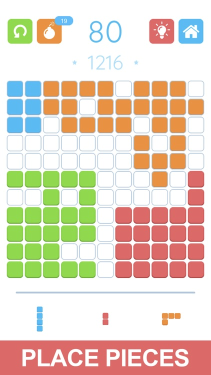 Сolor block puzzle