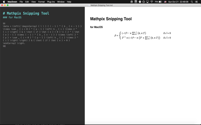 Mathpix Snipping Tool on the Mac App Store