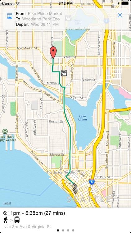 Transit Tracker - Seattle screenshot-3