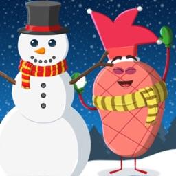 Christmas - Fruits Vs Veggies