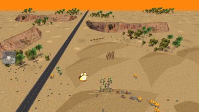 Desert War 3D - Tactical game screenshot two
