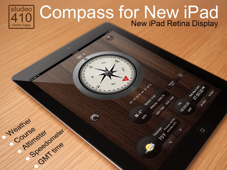 Compass for New iPad