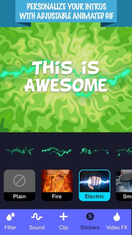 Intro Maker- Intro Creator screenshot-4