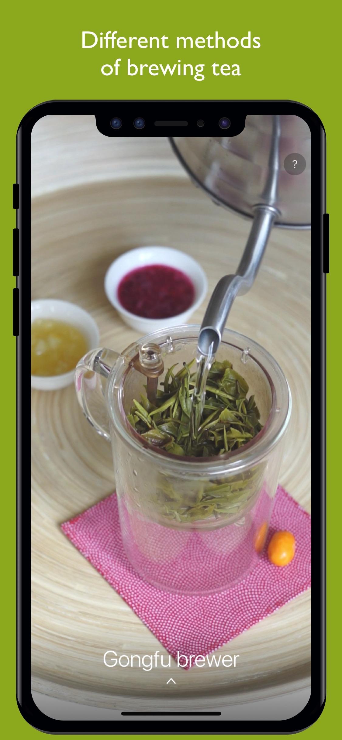 Screenshot do app The Tea App