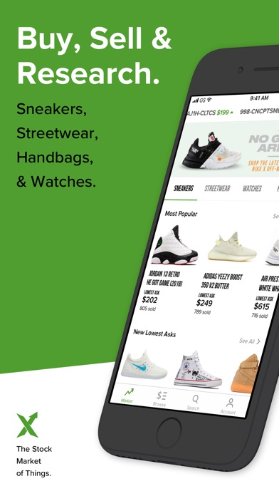 28736ff9 StockX is the safest and fastest way to buy and sell authentic sneakers,  streetwear, watches and handbags. Every product is authenticated for free  by our ...