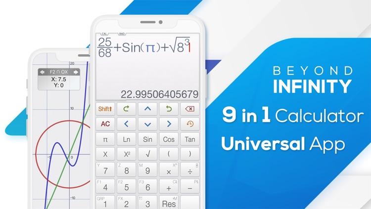 Calculator ∞ screenshot-0