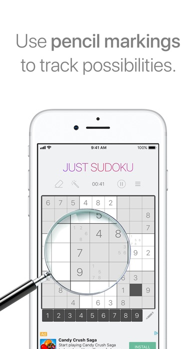 Just sudoku puzzle logic game by joseph keitgen puzzle games just sudoku puzzle logic game ccuart Images