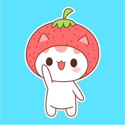 Strawberry Cat Animated