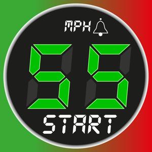 Speedometer 55 GPS Speed & HUD Navigation app
