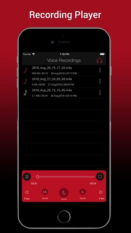 Voice Recorder HD Pro screenshot-3
