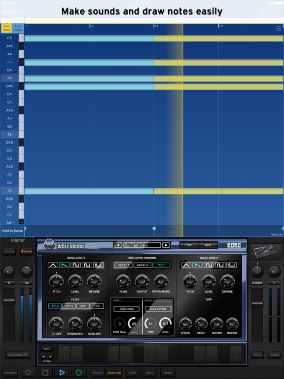 Screenshot #3 for KORG Gadget