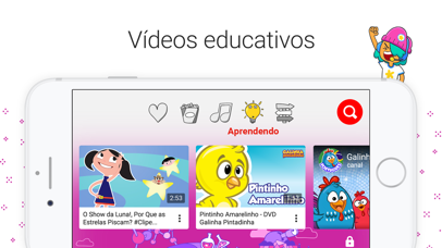 Screenshot for YouTube Kids in Brazil App Store