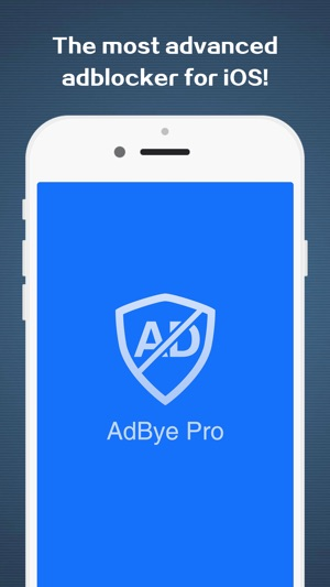 AdBye Pro-stop web pop-up ads Screenshot