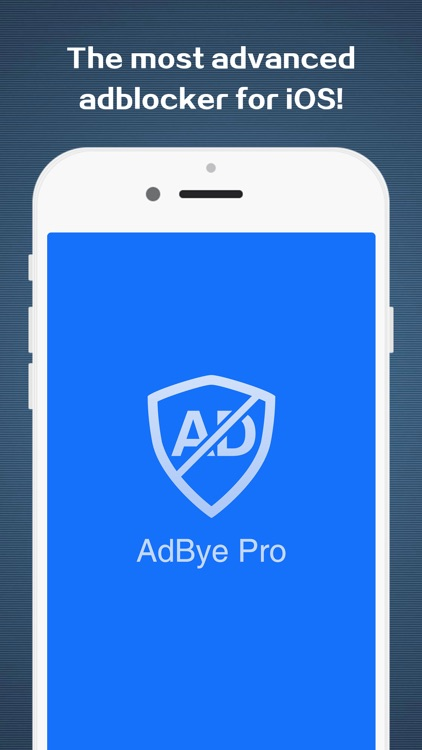 AdBye Pro-stop web pop-up ads