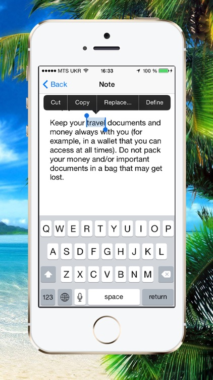 Beach Vacation Checklist screenshot-3