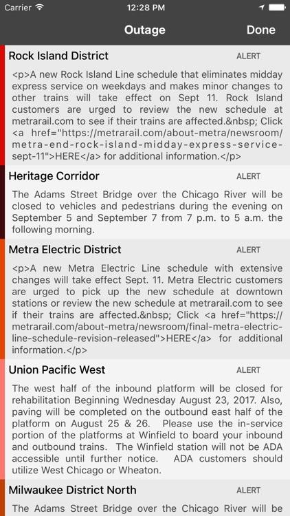onTime Metra screenshot-3