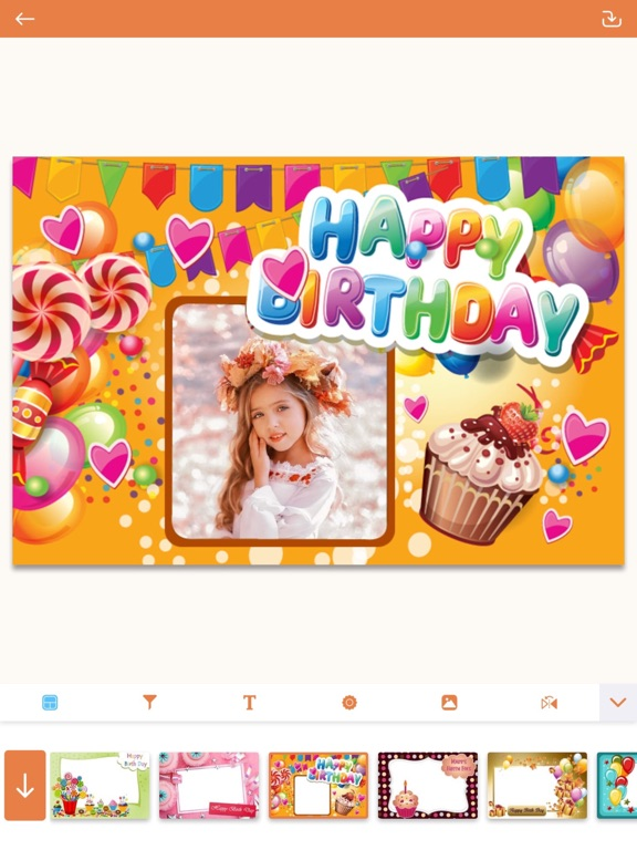 Birthday Photo Frames - Editor | App Price Drops
