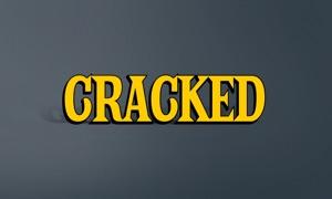 Cracked TV: