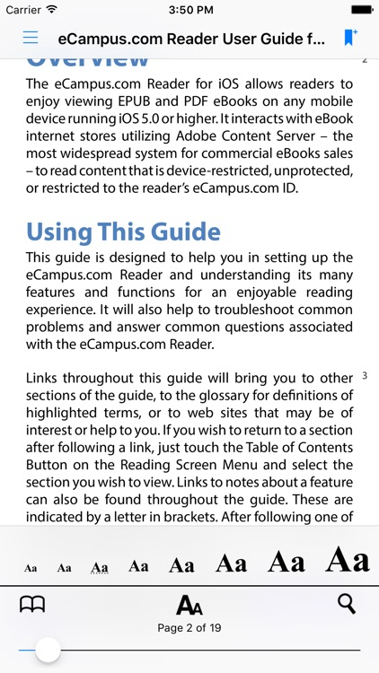 eCampus.com Reader screenshot-4