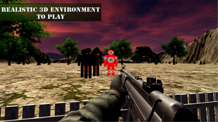 Range Shooting Simulation 3D Gun Shooting screenshot-3