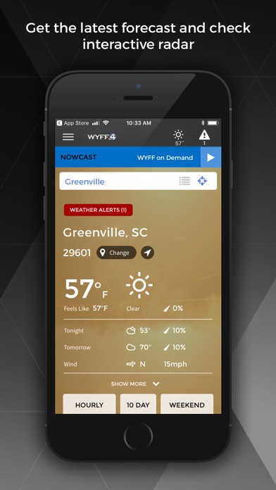WYFF News 4 - Greenville for Windows
