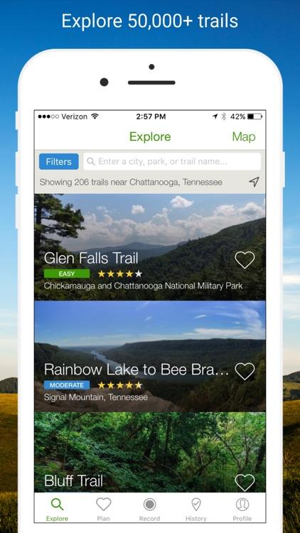 AllTrails - Hiking, Trail Running & Biking Trails screenshot-0