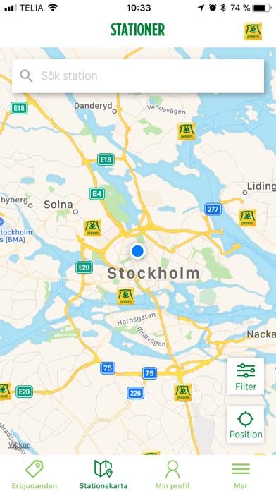 Screenshot for Preem in Sweden App Store