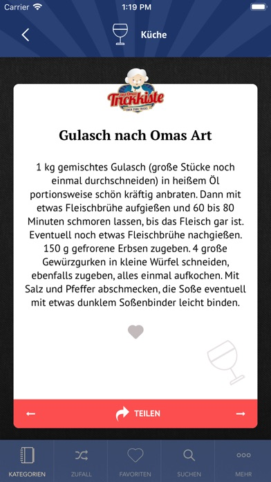 Screenshot for Aus Omas Trickkiste in Germany App Store