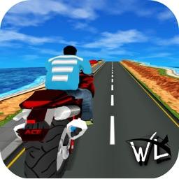Motorcycle Racer Beat The Traffic Hill Climb Bike