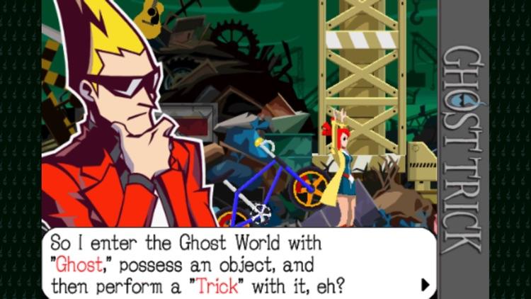 GHOST TRICK: Phantom Detective screenshot-3