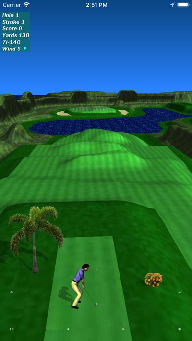 Par 3 Golf Lite screenshot one