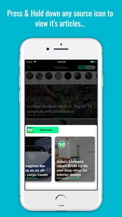 AccuNews: Local News & World screenshot-5