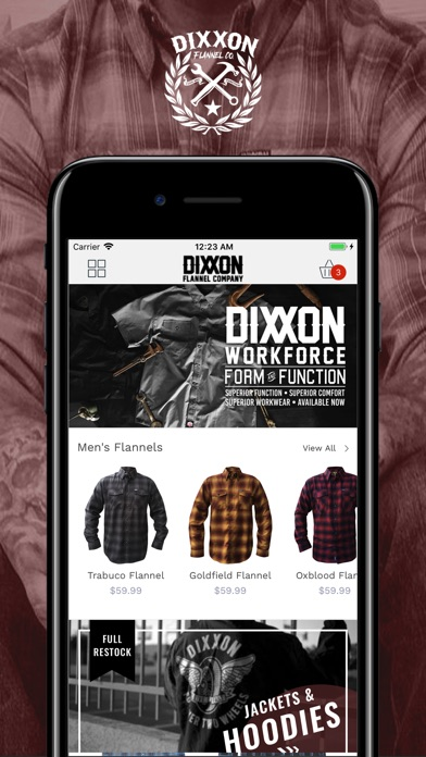 Dixxon Flannel Screenshot