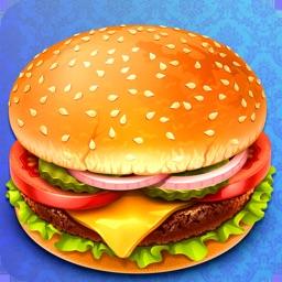 Crispy Burger Cooking Mania