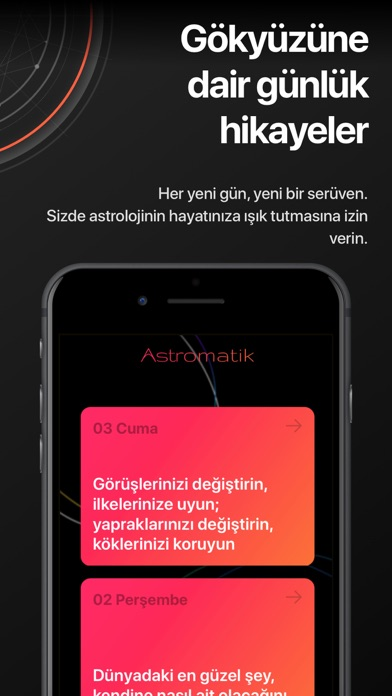 Screenshot for Astromatik Astroloji Danışmanı in Turkey App Store