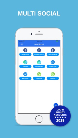 Multi Social: Multiple Account on the App Store