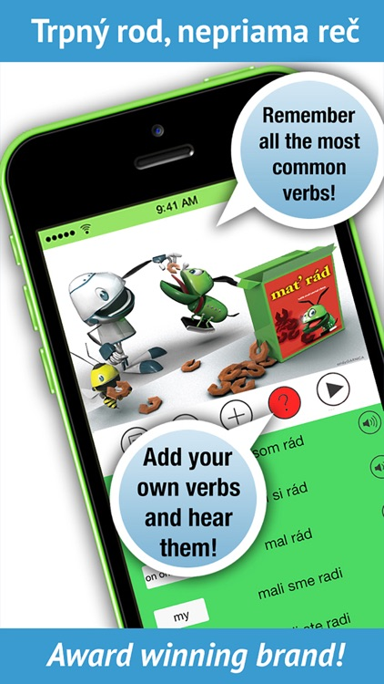 Slovak Verbs - LearnBots