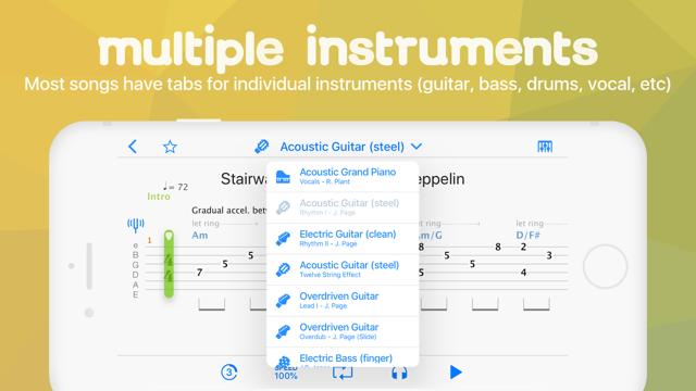 Songsterr Tabs & Chords Screenshot