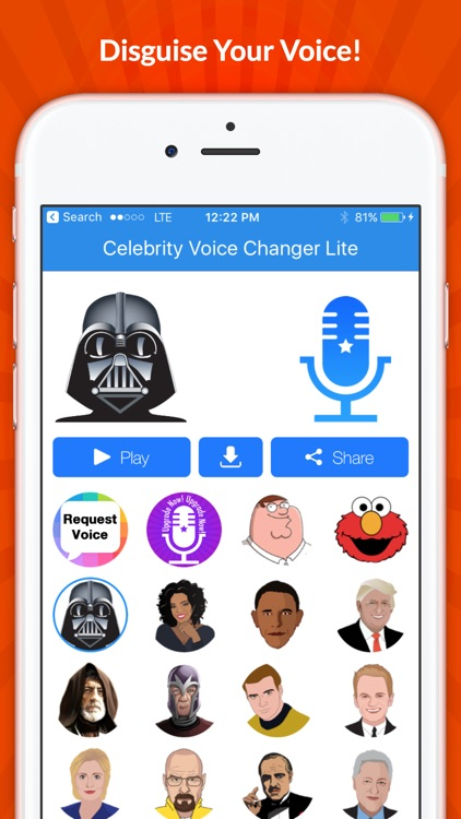 Celebrity Voice Changer -Spoof
